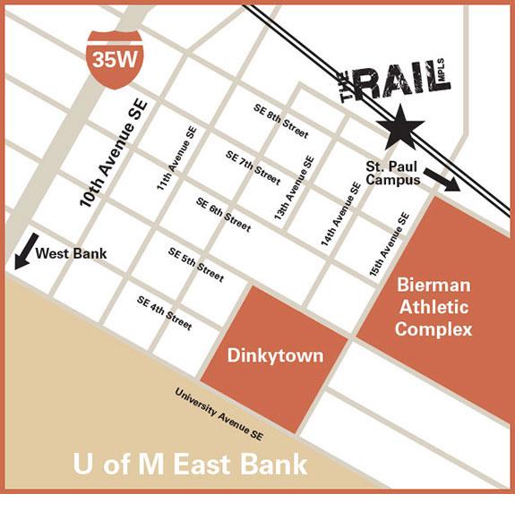 Dinkytown Apartments: The Rail Apartments